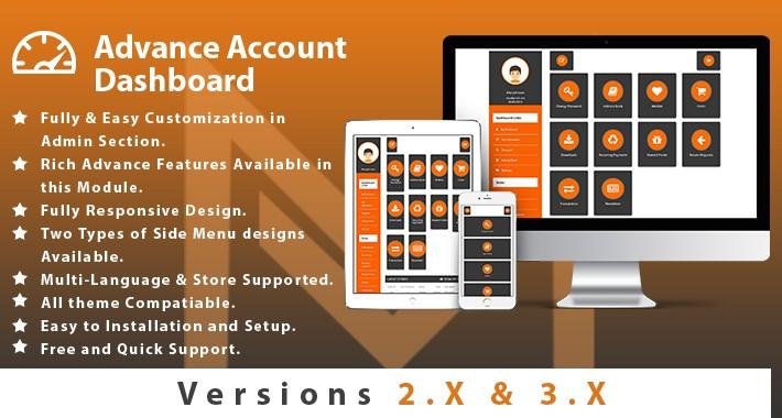 Advance Account Dashboard