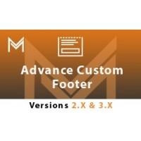 Advance MM Footer (Custom Footer)