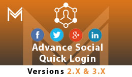 Advance Social Quick Login/ Signup